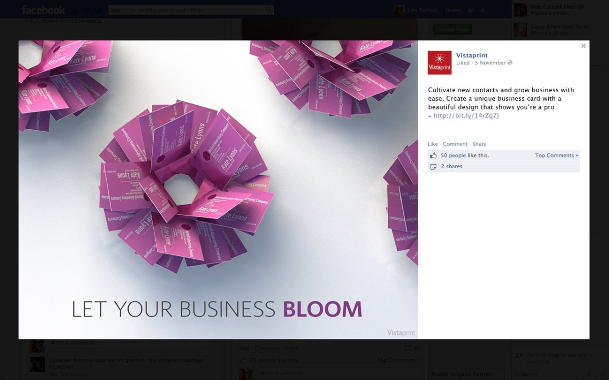 let your business bloom